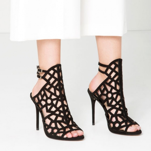 Zara chaussure ajourée