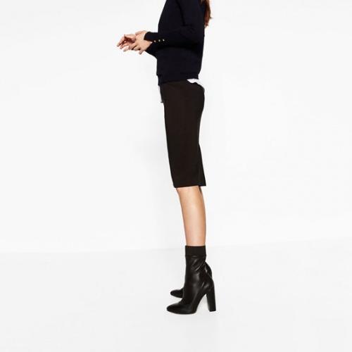 Zara bottines noires