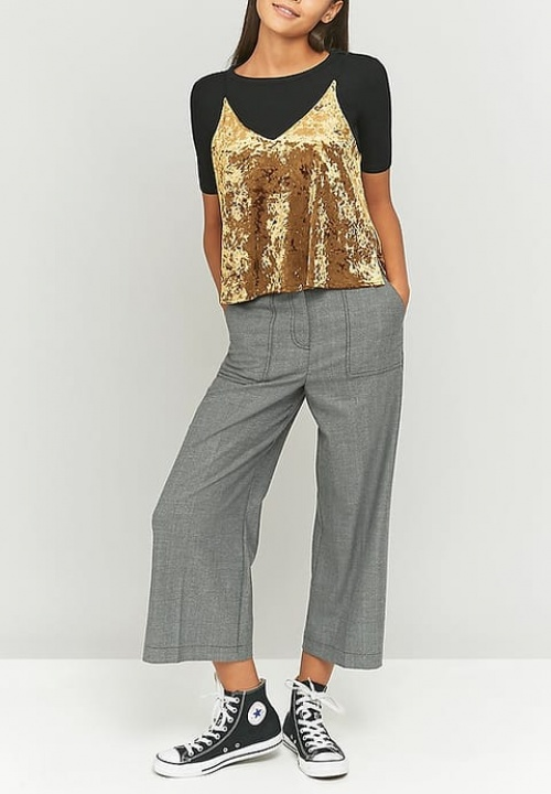 Urban outfitters - top velours