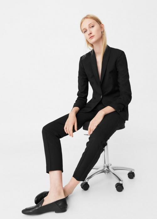 Mango - Veste noir blazer
