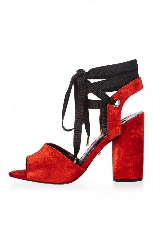 Topshop sandale rouge