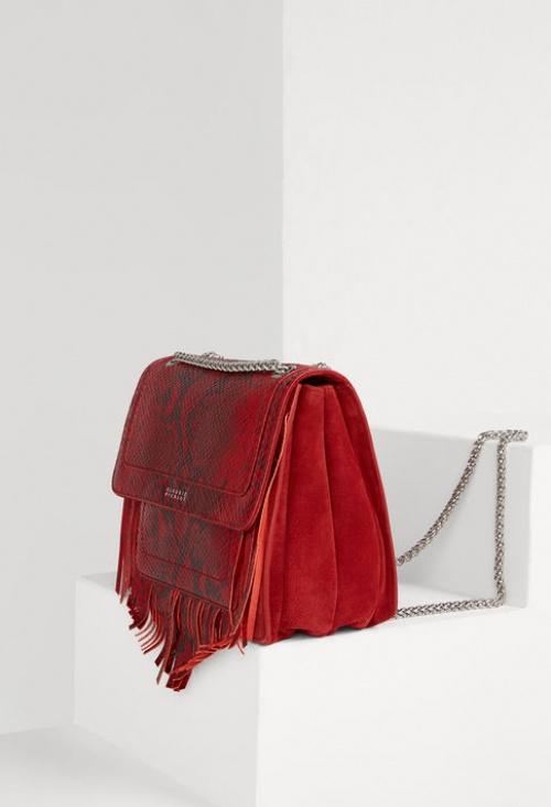 Claudie Pierlot sac rouge serpent