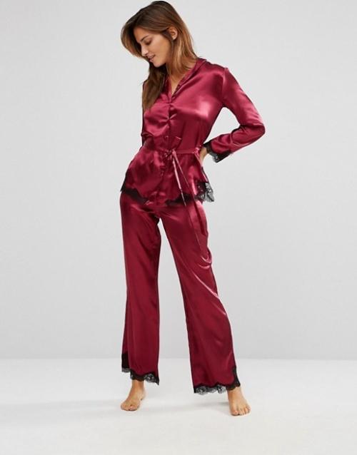 Boux Avenue -  Ensemble pyjama en satin