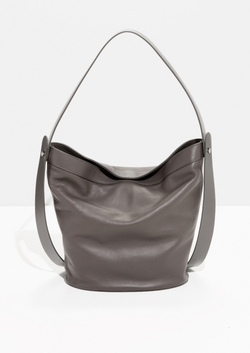 & Other Stories - sac seau gris