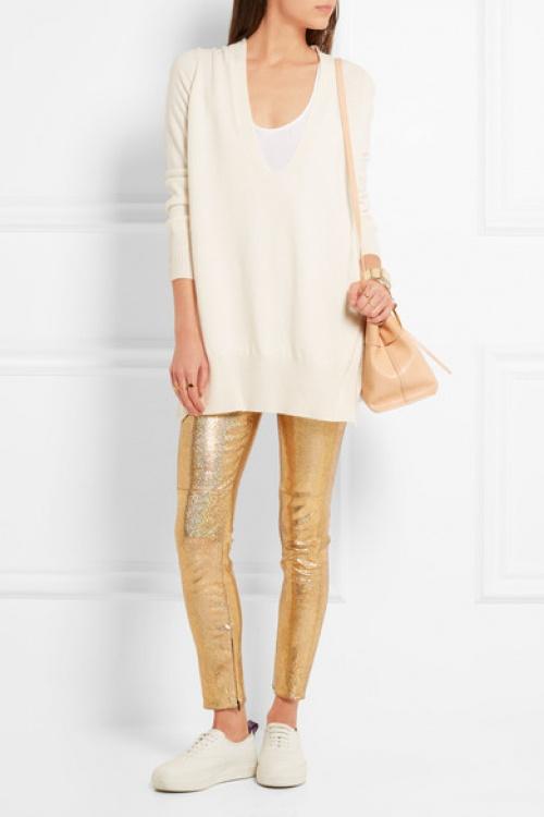 Isabel Marant pantalon doré