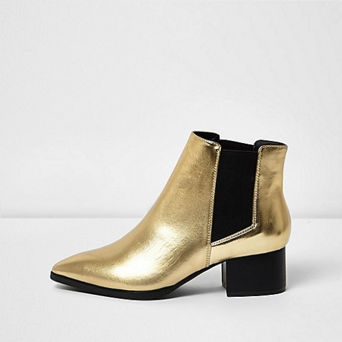 River Island bottines or