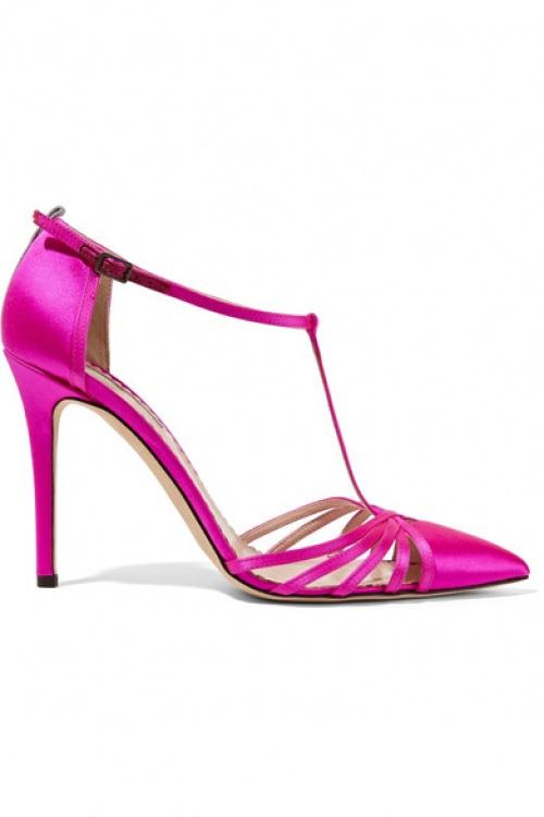 Sarah Jessica Parker  sandale roses