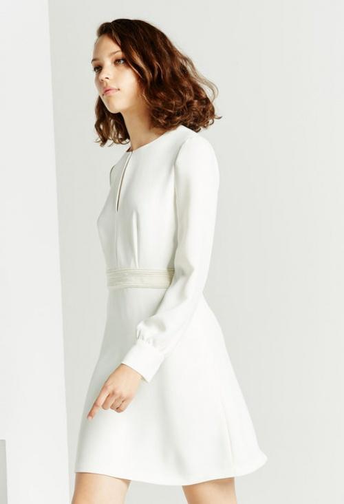 Claudie Pierlot  robe blanche