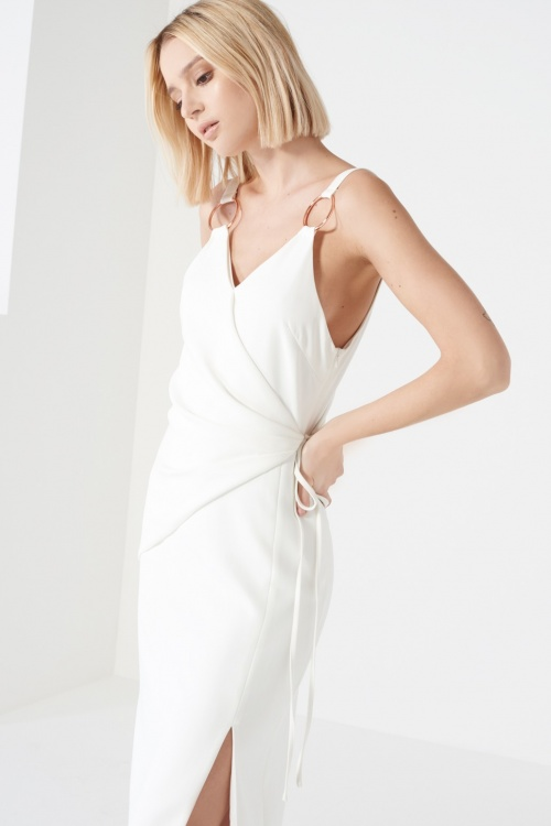 Lavish Alice  robe blanche