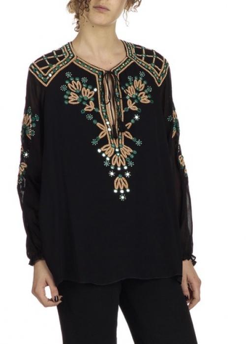 Antik Batik blouse brodée