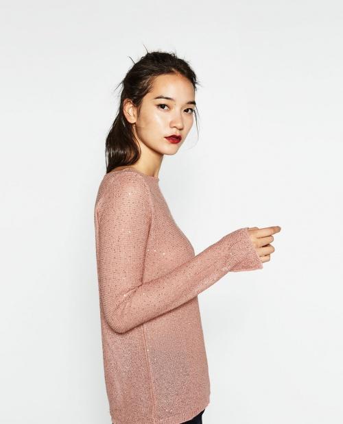 Zara - Pull sequin