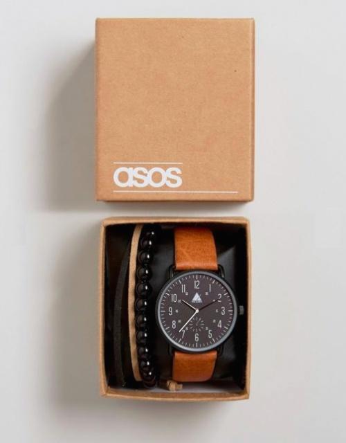 ASOS - Ensemble montre et bracelet