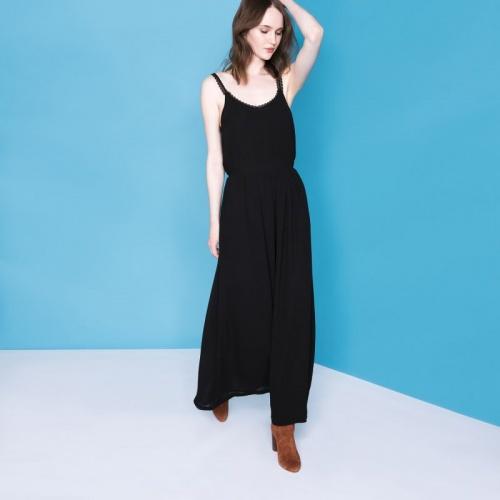 Suncoo robe longue noire