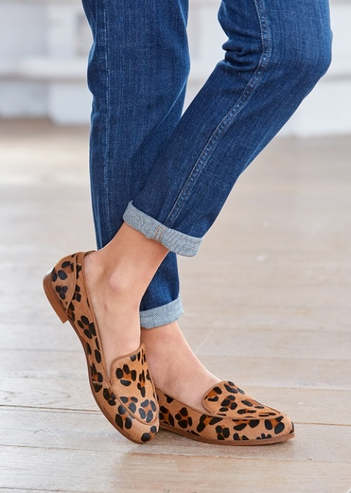 Sézane - Mocassins léopard