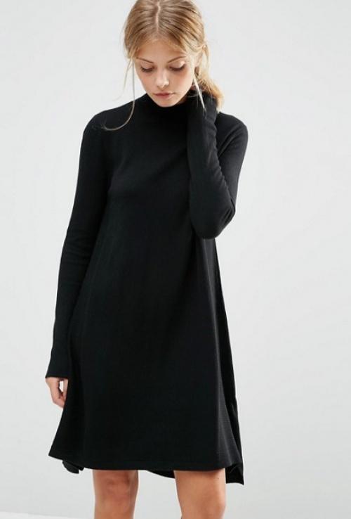 Asos - Robe pull noire