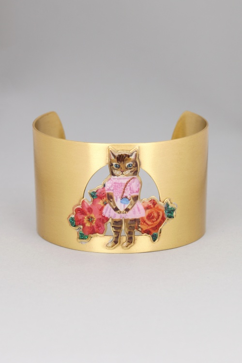 N2 - Manchette dorée chat