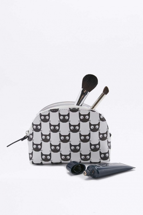 Urban Outfitters - Trousse à maquillage motifs chats