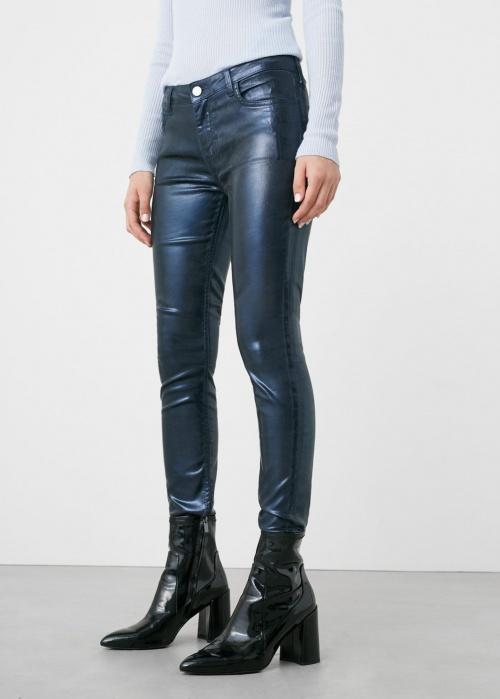 Mango - pantalon vinyl