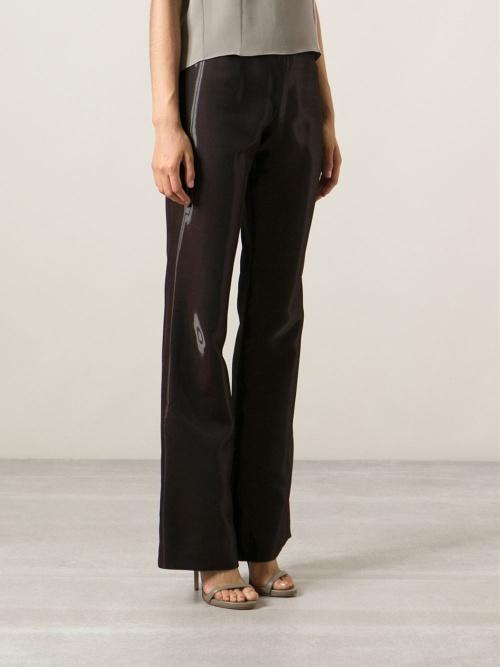 Jean Louis Scherrer Vintage - pantalon vinyl