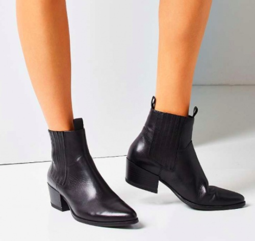 Urban Outfitters - Bottines noires styles western