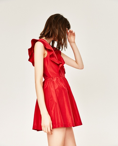Zara - Robe rouge