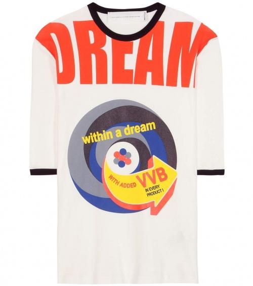 Victoria Victoria Beckham - t-shirt coton imprimé