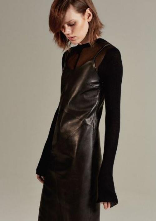 Zara - pull fin transparent