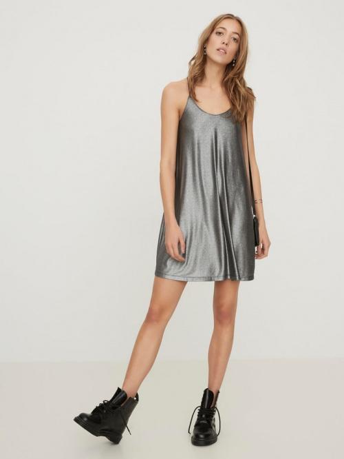 Vero Moda - robe nuisette métallisée