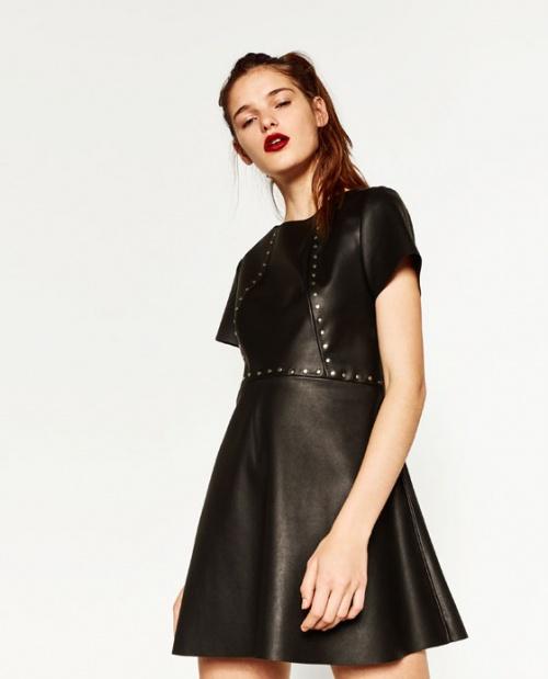 Zara - Robe avec clous