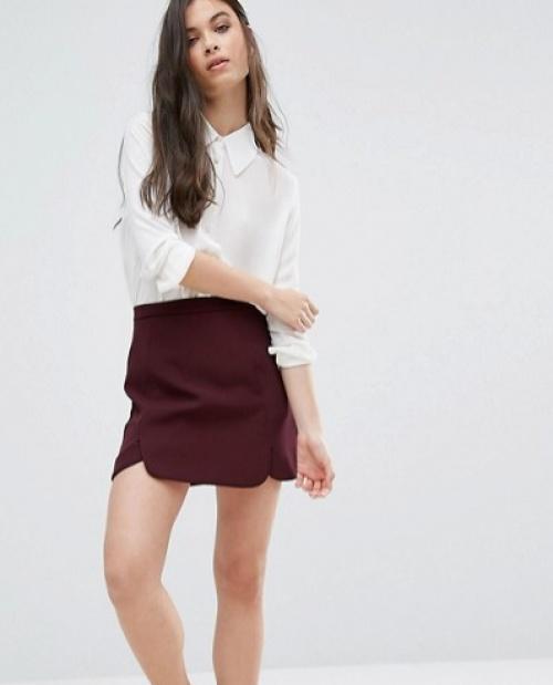 Alter  mini jupe bordeaux