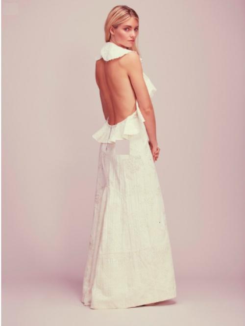 Free People - Robe de mariée blanche