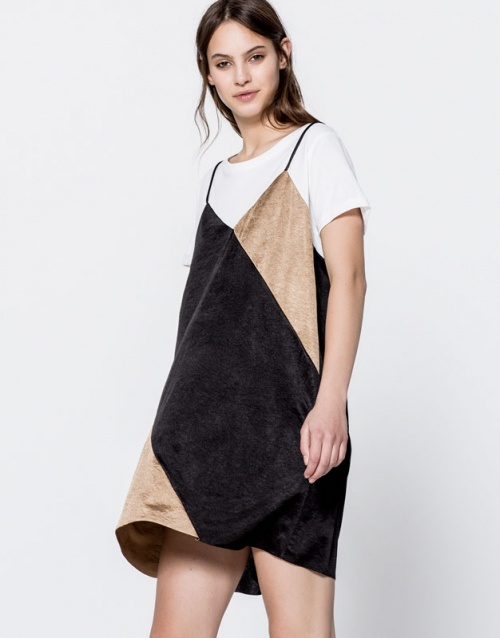 Pull & Bear - robe nuisette color block