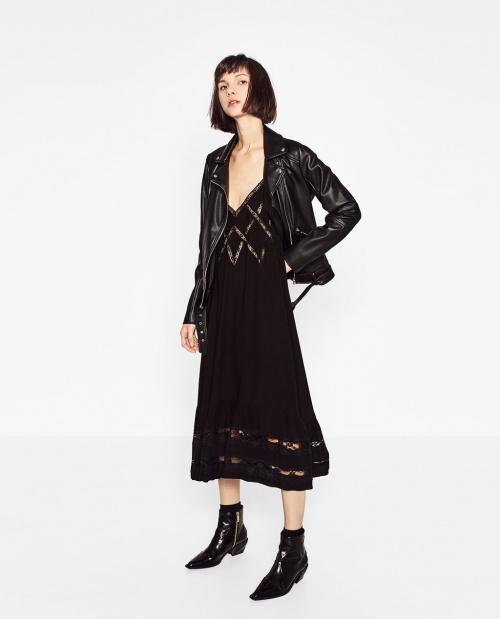 Zara - robe nuisette longue