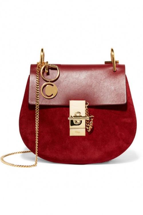 Chloé - charm pour sac à main en plaqué or