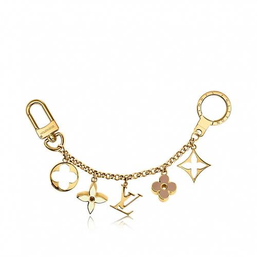 Louis Vuitton - bijou de sac chaîne fleur de monogram