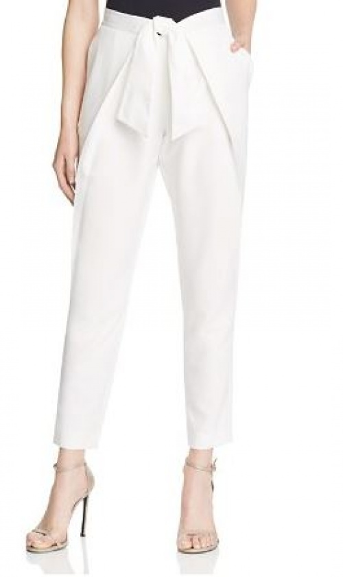 Bloomingdale's - pantalon blanc à pinces