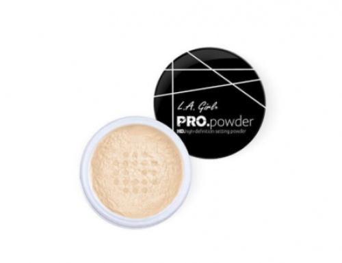 L.A Girl - Poudre fixatrice de maquillage et matifiante