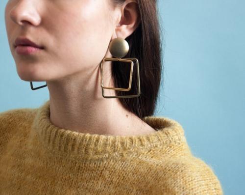Persephone Vintage - boucles d'oreilles