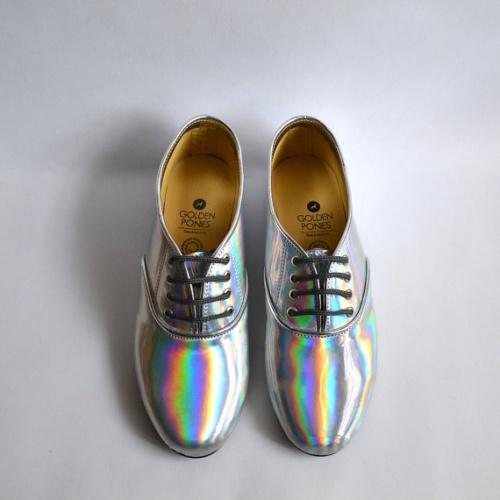 Golden Ponies - chaussures derbies