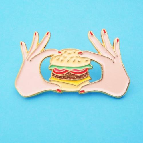 Coucou Suzette - pin's burger