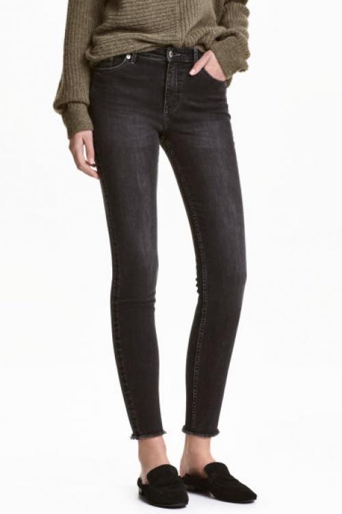 H&M - jean slim frangé