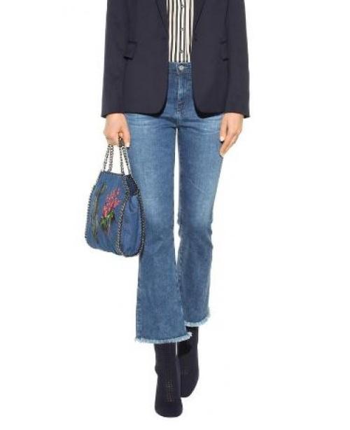 AG Jeans - jean flare frangé
