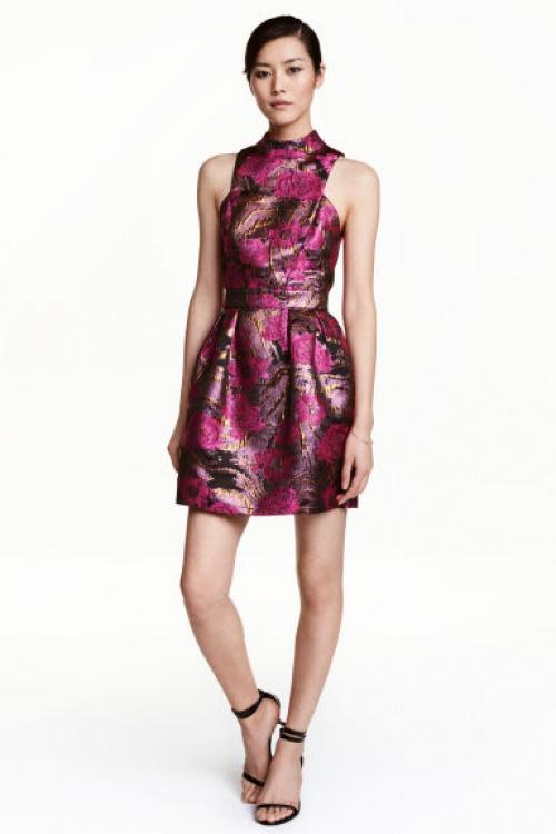 H&M - robe jacquard