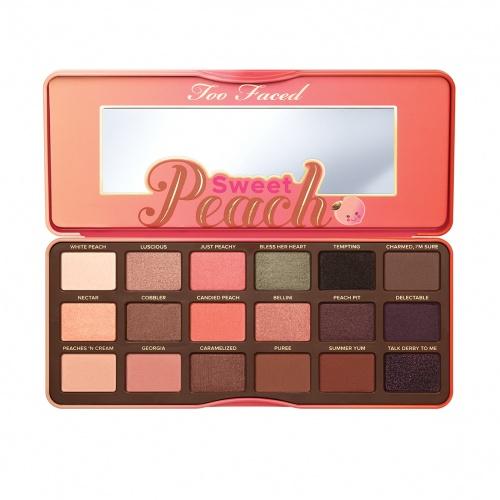 Too  Faced Sweet Peach palette fard paupières