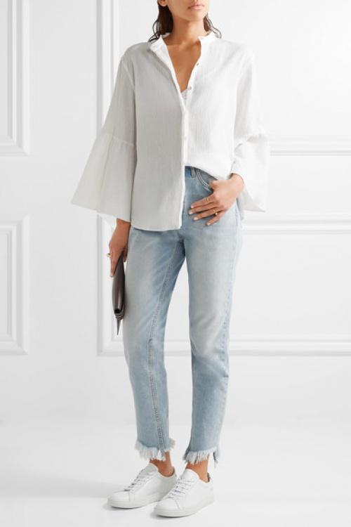 M.I.H Jeans - Blouse en étamine de coton