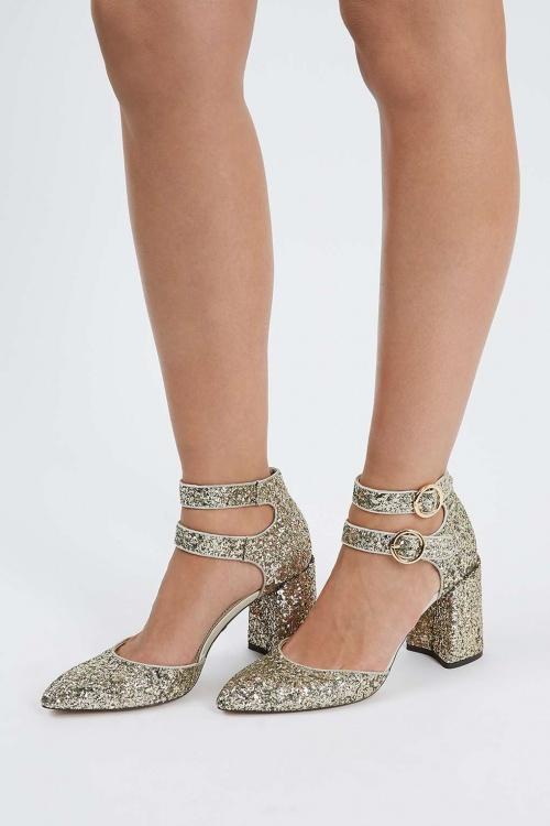 Top Shop - sandales pailletées