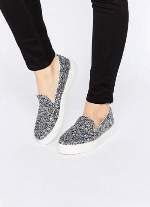 Asos - sneakers pailletées