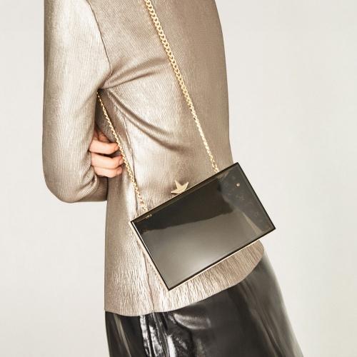 Zara - minaudière transparente