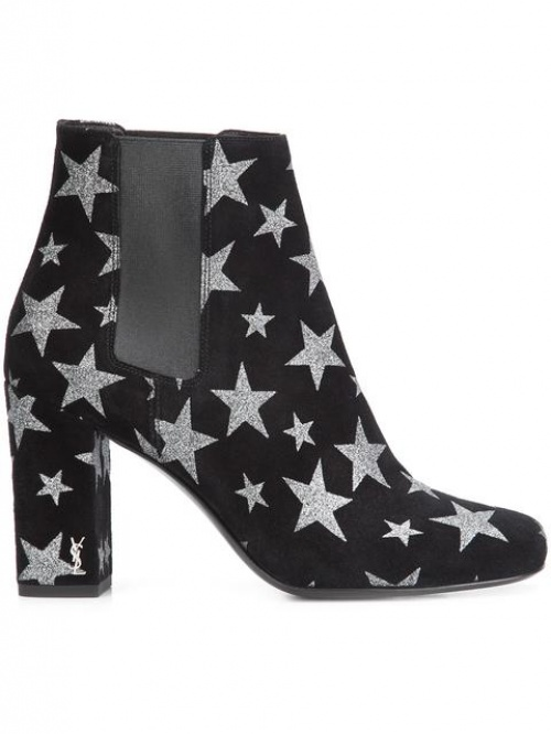 Saint Laurent - boots étoiles