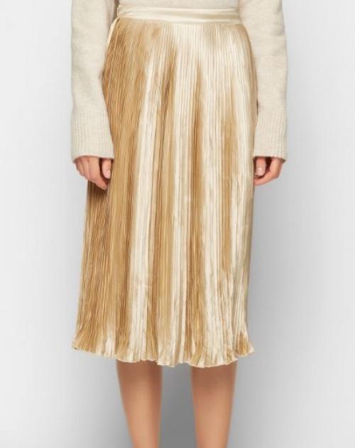 Edited - jupe dorée